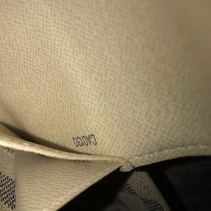 Louis Vuitton Bags - Damier Azur San Tulle Pouch Bum White Canvas